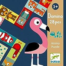 Djeco - Educativos domino animo-puzzle
