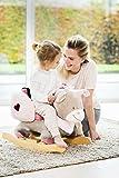 Nattou Schaukeltier ab 1 Jahr mit Gurt für Mädchen