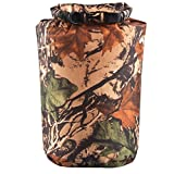 #6: Impoted 80L Waterproof Roll Top Compression Bag Dry Sack for Camping Floating Camo