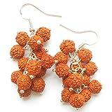Rudraksha Jewellery Earrings 925 Sterlin...