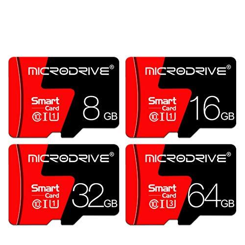 Preisvergleich Produktbild DZSF Ultra 16 / 32 / 64 / 128 / 256 GB Microsdxc-Speicherkarte + SD-Adapter mit Einer Leistung von bis zu 100 MB / S,  Klasse 10,  U1 (1 STÜCK), 256GB