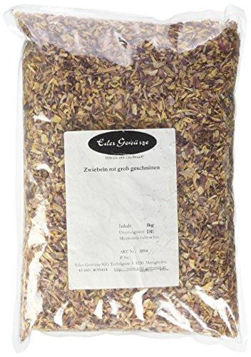 Eder Gewürze - Zwiebeln rot grob geschnitten - 1 kg Gewürze, 1er Pack (1 x 1 kg)