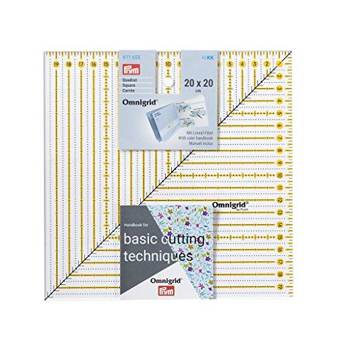 Patchwork-Lineal Square 20 x 20 cm Omnigrid