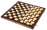 Square - Damas de Madera - 100 Campo - Checkers - 40 x 40 cm