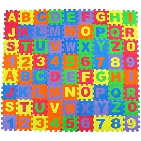 Alphabet Letters & Numbers Educational Foam Puzzle