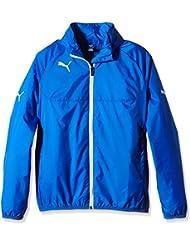 PUMA Jacke Rain Jacket - Chaqueta, color azul, talla 10 años (140 cm)