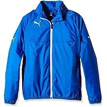 PUMA Jacke Rain Jacket - Chaleco de fútbol para hombre, color azul, talla 3XL