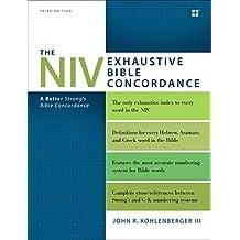 The NIV Exhaustive Bible Concordance, Third Edition