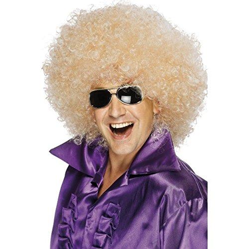 Afro Perücke, Super-groß, Blond