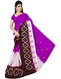 New Purple Saree For Women Party And Wedding Collection Special Saree For Girls Wedding Ceremony Party Festival...