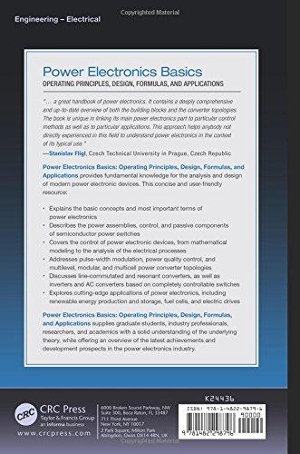 Power Electronics Basics: Operating Principles, Design, Formulas, and Applications