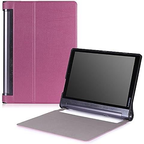 Lenovo Yoga Tab 3 pro Funda - MoKo Ultra Lightweight Slim-shell Stand Cover Funda para Lenovo Yoga Tab 3 Pro 10.1 Inch Tablet, Violeta