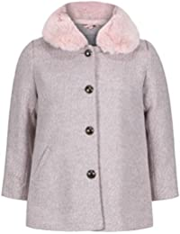 EX Next Girls Baby Toddler Jacket Coat Smart Dusty Pink Autumn 1 to 6 Years  RRP 2948fa187f
