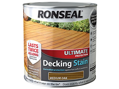 ronseal-udsmo25l-25-litre-ultimate-protection-decking-stain-medium-oak
