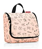 Reisenthel, Toiletbag Cats And Dogs, Kulturtasche, 23 cm, Rose