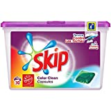 SKIP Lessive Capsules Color Clean 30 Dosettes