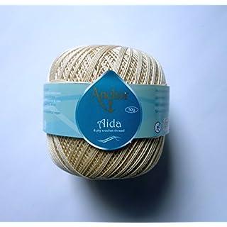 Anchor Coats Aida 50 g Stärke 5 00387 beige 50 g
