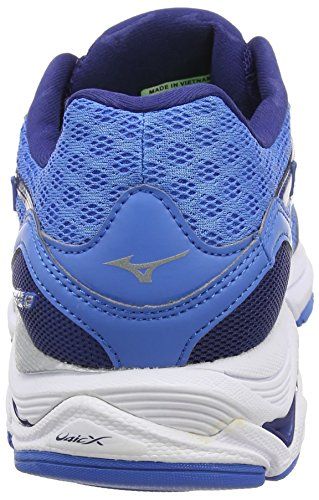 Mizuno Wave Inspire 12, Chaussures De Course À Pied Homme Bleu (french Blue / White / Twilight Blue)