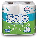 Solo Toilet Paper Bathroom Tissue Roll (...