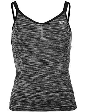 Usa Pro Mujer Seamless Camiseta Top Spaghetti Correas Elastico Entrenar Running