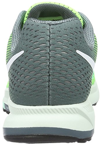 Nike Wmns Air Zoom Pegasus 33, chaussure de sport femme Verde (Ghost Green/White/Hasta/Green Glow)