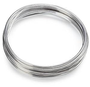 Gütermann / KnorrPrandell 6464009 - Plata de Alambre de Aluminio de 2 mm Ø, 4 m / s Bolsas Importado de Alemania