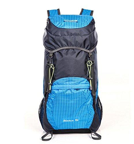 HCLHWYDHCLHWYD-Donna pelle pieghevole pacchetto ultraleggero portatile borsa trekking impermeabile di grande capienza del sacchetto di spalla Bag Man sport all'aria aperta , 4 1