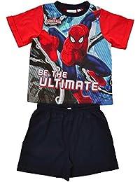 Spiderman - Pijama dos piezas - Manga corta - para niño