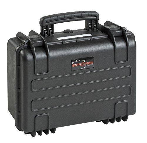 Gt-line EXPLORER.B - Caso a tenuta stagna in polipropilene con schiuma (interno 380 x 270 x 180 mm, capacità 18 l)