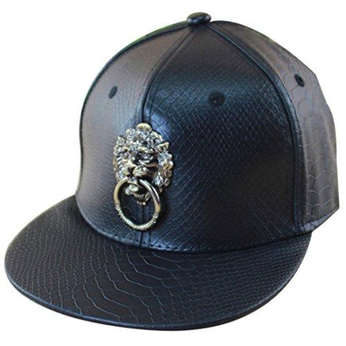 Imagen de belsen piel hip hop león aro  béisbol sombrero, hombre, negro, talla unica