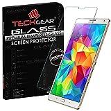 TECHGEAR Vetro Temperato Compatibile con Galaxy Tab S 8.4 inch (SM-T700/SM-T705) - Autentica Pellicola Protecttiva in Vetro Temperato