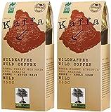 Original Food Kaffa Wild-Kaffee mild ganze Bohne 2er-Pack (2x 250g) bio vegan fair Arabica MildBohx2