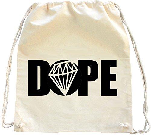 Imagen de mister merchandise  bolso saco dope diamond diamant , color natural