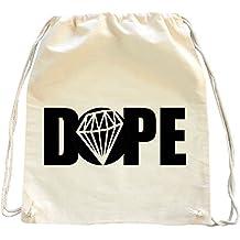 Mister Merchandise Mochila Bolso Saco Dope Diamond Diamant bolsa de la compra