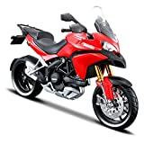 Maisto Ducati Multistrada 1200S Diecast Toy Bike - Red