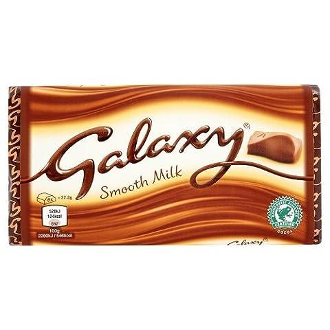 Galaxy Barre Lisse de Chocolat au Lait 114 g