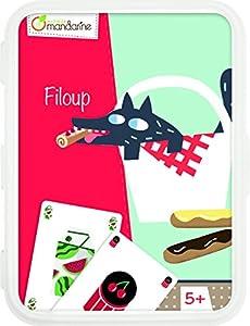 Decopatch-CO106O-Avenue Mandarine Filoup-Juegos de Cartas