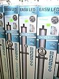 Aquatlantis - Rampe d'éclairage 09746EasyLed Universal pour Aquarium d'eau Douce - 45-70cm