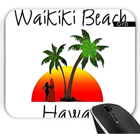 Muismat - Waikiki Spiaggia Hawaii by loki1982