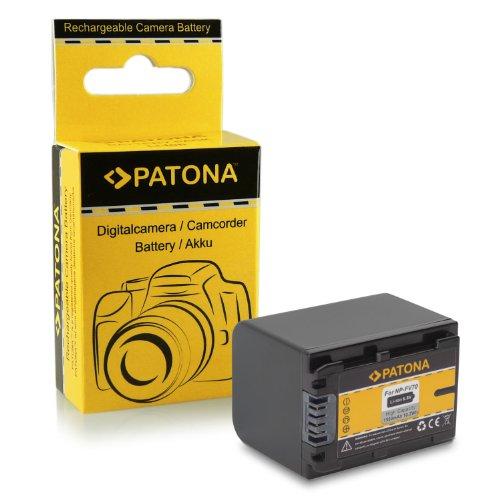 Bateria NP-FV70 para Sony Camcorder DCR-DVD110E | DVD115E | DVD150E | DVD310E | DVD410E | DVD450E | DVD510E | DVD610E | DVD650E | DVD710E | DVD810E | DVD850E | DVD910E | DCR-SR15E | SR37E | SR38E...