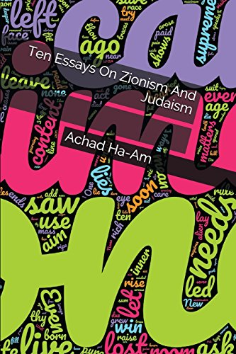 Ten Essays On Zionism And Judaism