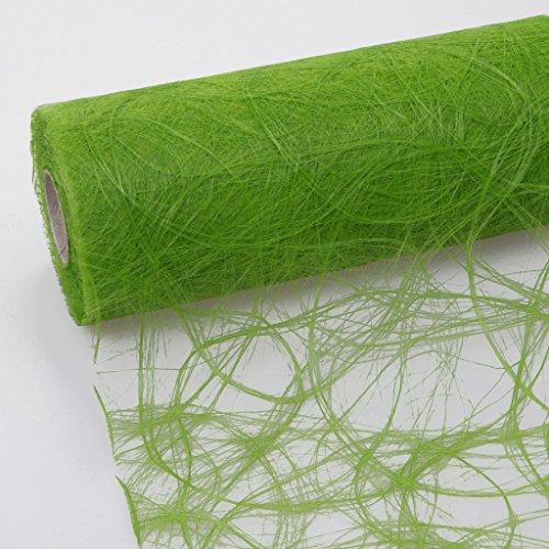 Sizoweb Tischband apfelgrün 30 cm Rolle 25 Meter 64 030-R