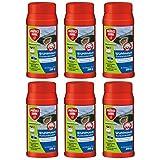 SBM Protect Home GARDOPIA Sparpaket: 6 x 250g Rodicum Wühlmaus Portionsköder + Gardopia Zeckenzange mit Lupe