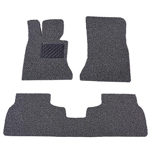 Deking Klassische Teppichbodenmatten Fußmatten Set, 3 Stück Premium Qualität Universal Fit Alle Wetter Fahrzeug Bodenmatten (All-wetter-fußmatten Van)
