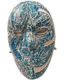 HOLLYWOOD UNDEAD - JOHNNY TRES Lágrimas J3t Estilo Azul Máscara -...