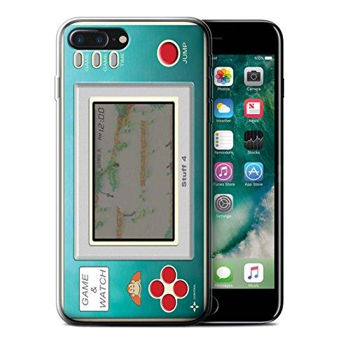 Stuff4 Gel TPU Hülle / Case für Apple iPhone 8 / Nintendo Game Boy Muster / Spielkonsolen Kollektion Donkey Kong JR