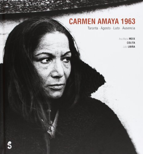 Portada del libro Carmen Amaya. 1963 (Singular)