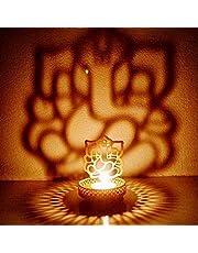 eCraftIndia Lord Ganesha Tea Light Holder