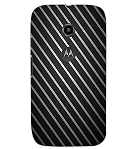 MOTOROLA MOTO E2 STRIPES Back Cover by PRINTSWAG
