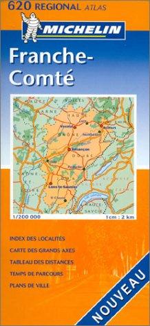 Atlas routiers : Franche-Comté, N°20620